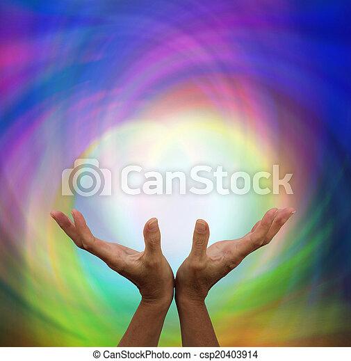 energía, curación - csp20403914