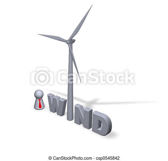 Energía del viento - csp0545842