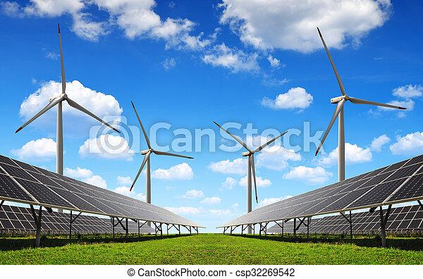Energía limpia - csp32269542