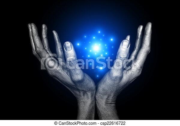 Energía mágica - csp22616722