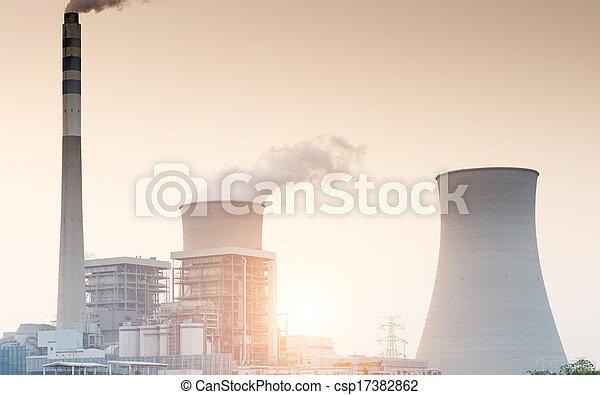 Energía nuclear - csp17382862