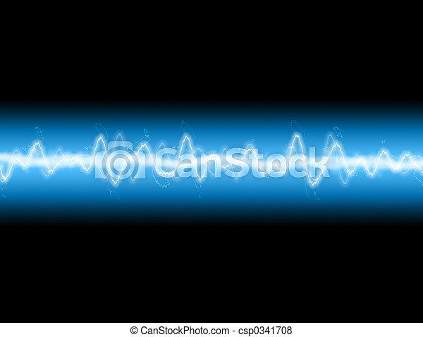 energía, onda - csp0341708