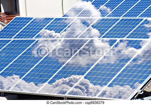 Energía solar - csp6936379