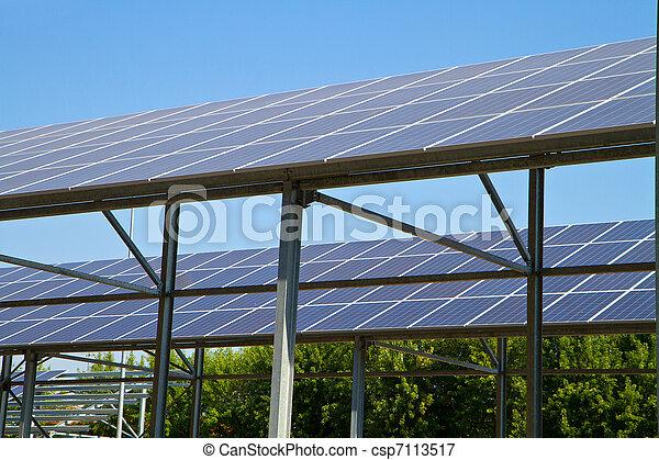 Energía solar - csp7113517