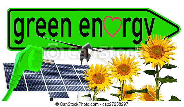 Energía verde - csp27258297