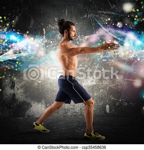 energi, fitness - csp35458636