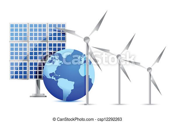 energia alternativa - csp12292263