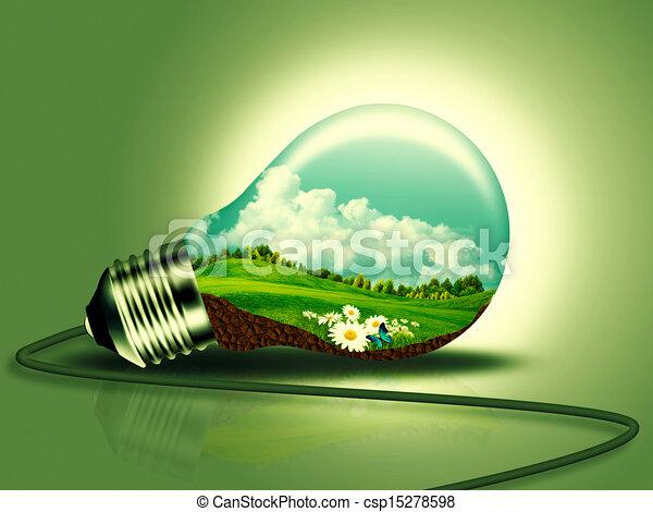 energia, concetto, disegno, tuo, rinnovabile - csp15278598