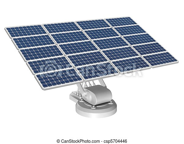 energia, painéis, solar - csp5704446