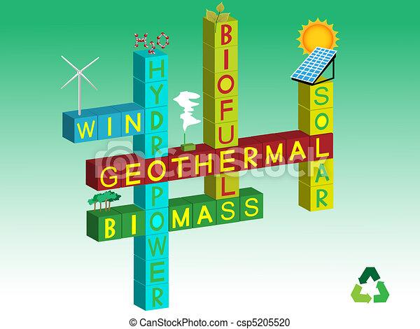 energia, renovável - csp5205520
