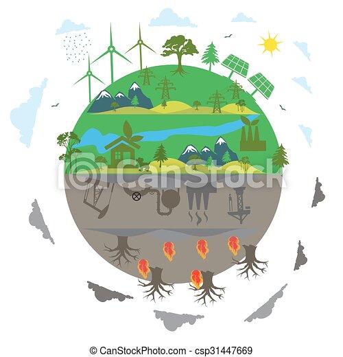 energia, renovável - csp31447669