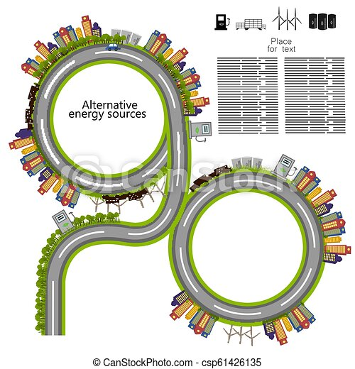 energia, renovável - csp61426135