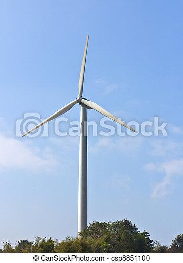 energia, turbina, vento - csp8851100