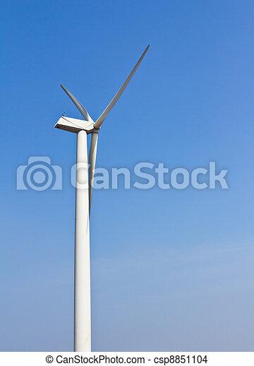 energia, turbina, vento - csp8851104