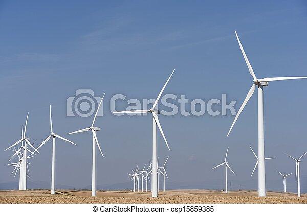energia, vento - csp15859385