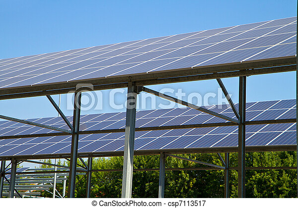 Sonnenenergie - csp7113517