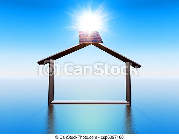 Sonnenenergie - csp6097168