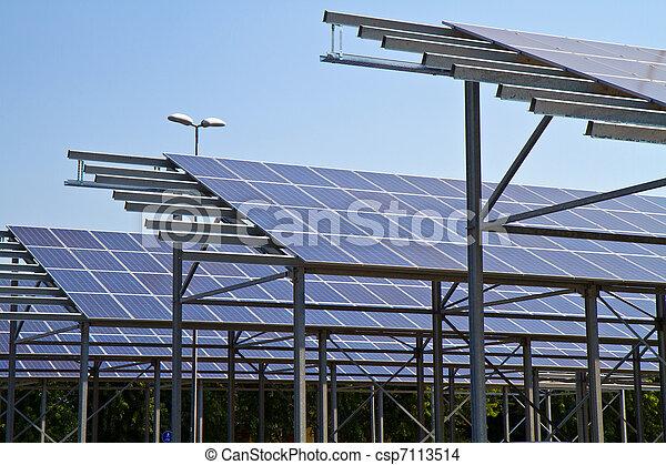 Solarenergie - csp7113514