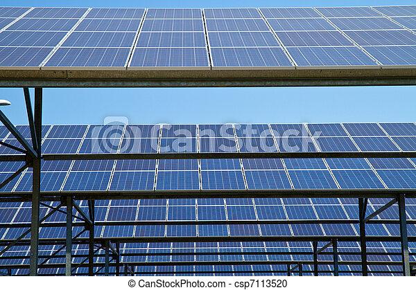 energie, sonnenkollektoren - csp7113520