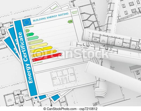 Energy Certificate concept - csp7210812