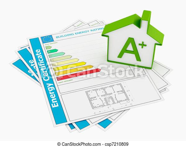 Energy certificate - csp7210809