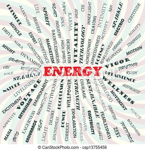 energy - csp13755456