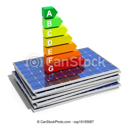 Energy efficiency concept - csp16165687