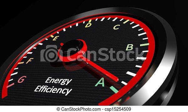 Energy efficiency rating - csp15254509