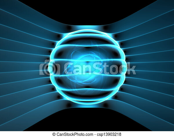 Energy generator concept abstract illustration - csp13903218