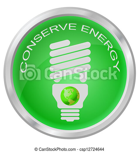 Energy light bulb - csp12724644