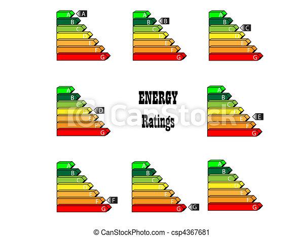 Energy Ratings - csp4367681