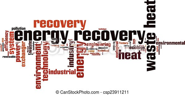 Energy recovery word cloud - csp23911211