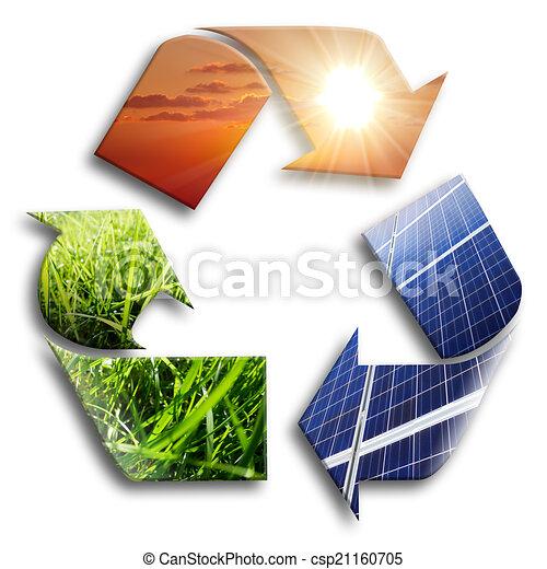 energy recycled: photovoltaic  - csp21160705