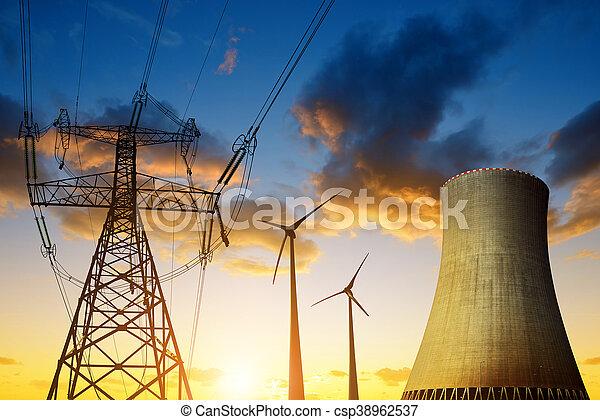 Energy resources concept - csp38962537