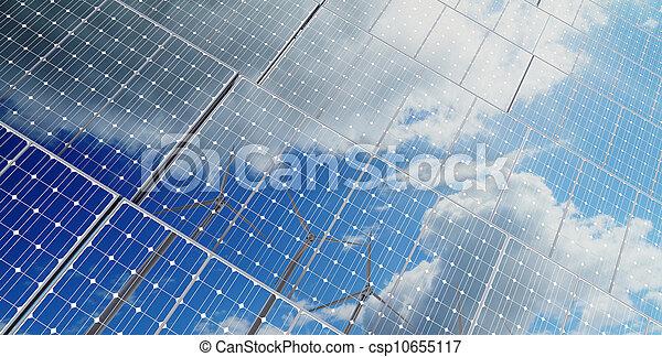 energy saving  background  - csp10655117