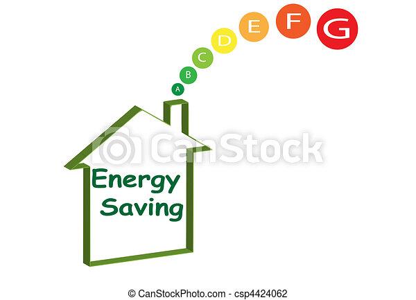 energy-saving-house - csp4424062