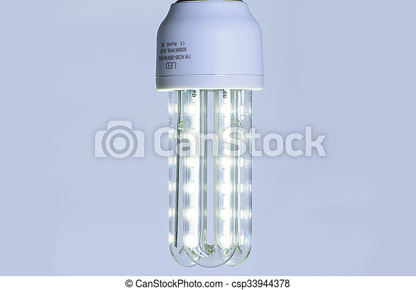 Energy saving LED light bulb - csp33944378
