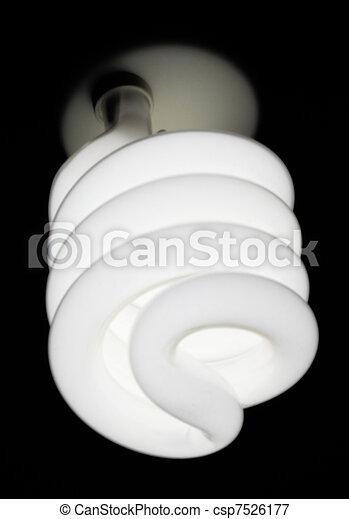 Energy saving light bulb - csp7526177