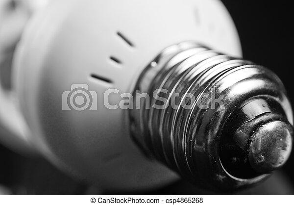 energy saving light bulb - csp4865268