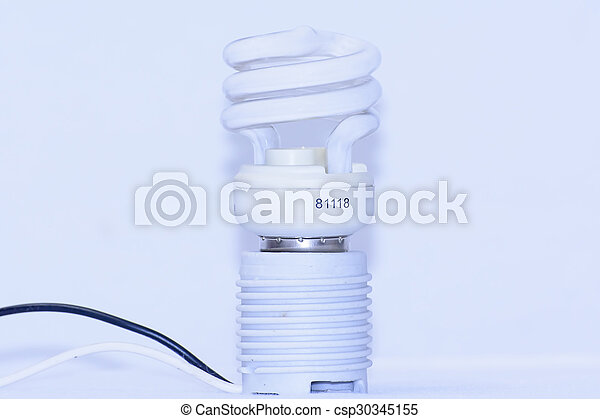 Energy saving light bulb - csp30345155