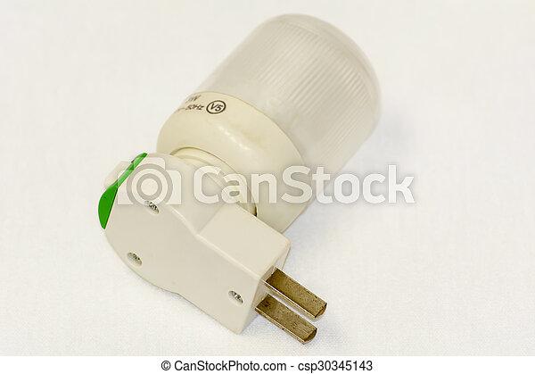 Energy saving light bulb - csp30345143