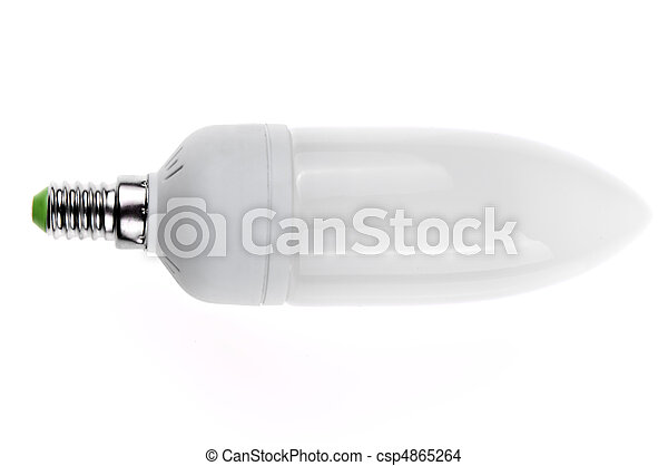 energy saving light bulb - csp4865264