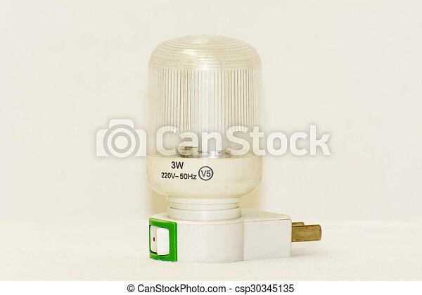 Energy saving light bulb - csp30345135
