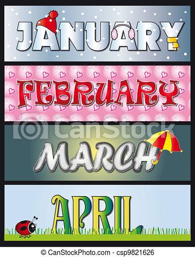 Enero Febrero Marzo Abril