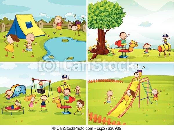 enfants - csp27630909