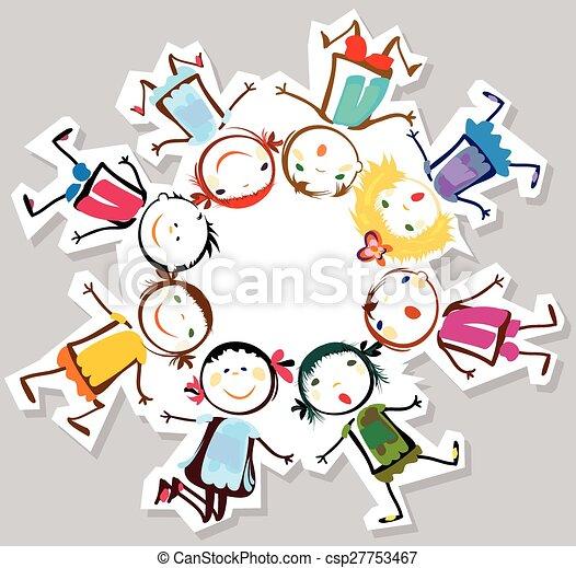 enfants, heureux - csp27753467