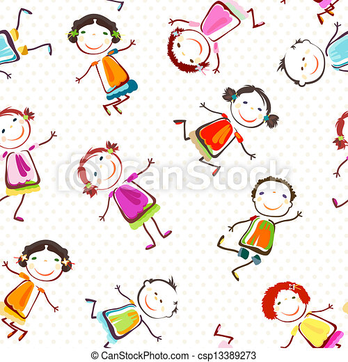enfants, heureux - csp13389273