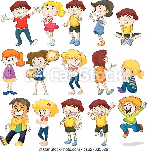 enfants - csp27635529