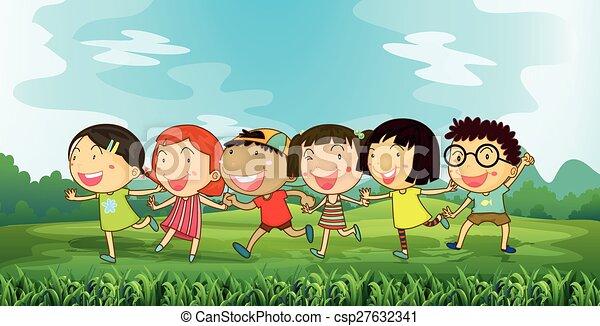 enfants - csp27632341