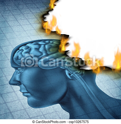 enfermedad del cerebro - csp10267575